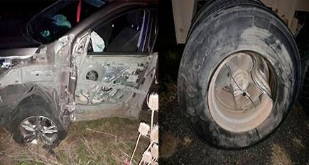 Dos vehículos impactaron de manera fronto-lateral en inmediaciones a Ibarra