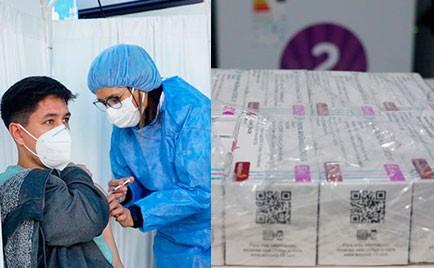 Continúa el Plan Integral de Vacunación, sábado y domingo en el Parque de 13 a 17 horas y llegaron mil vacunas de Astrazeneca