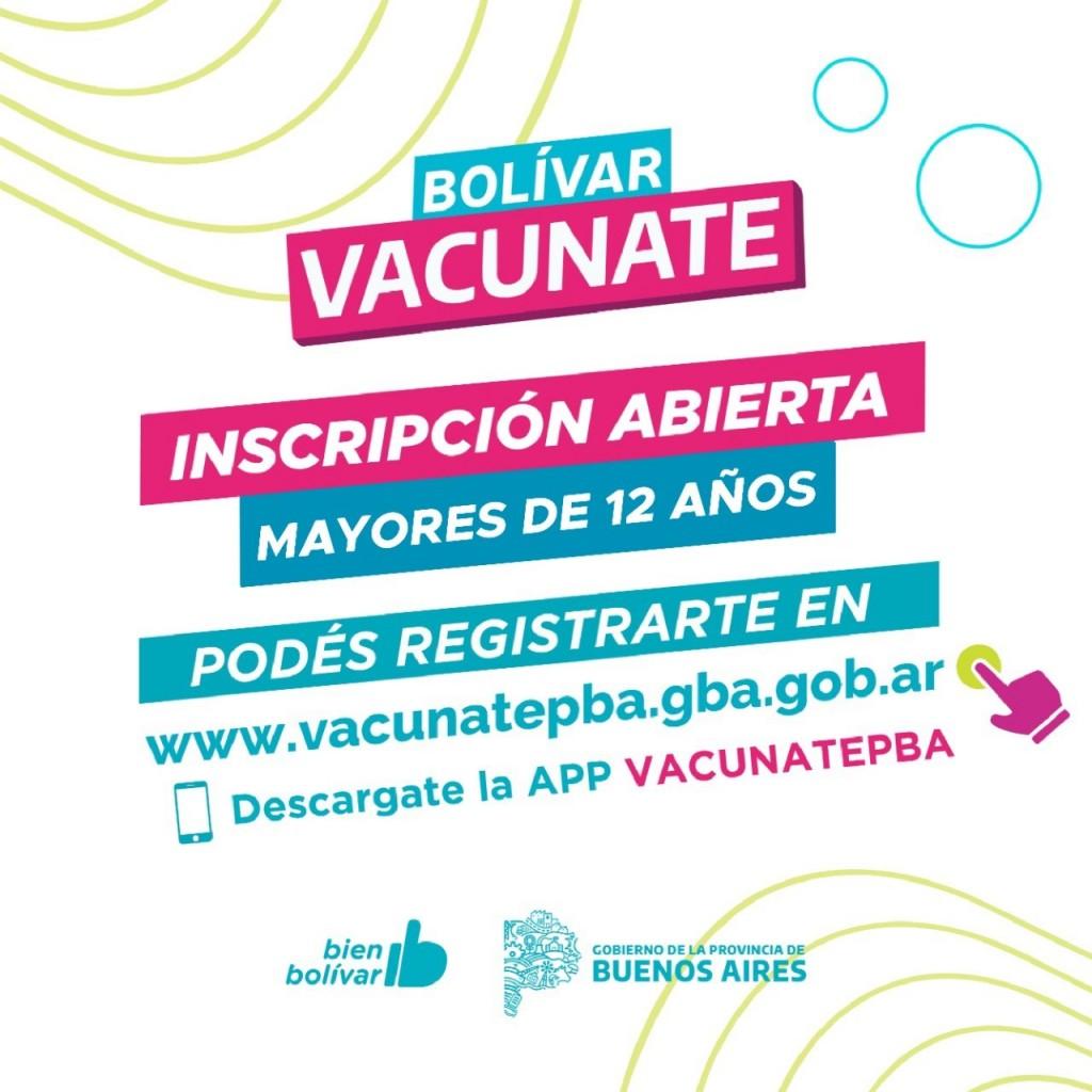 Vacunación COVID-19: Ya se pueden inscribir menores de 12 hasta 17 años