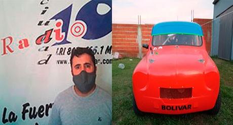 Elías Villacorta habló del retorno de las competencias en la APTC y su auto para este año
