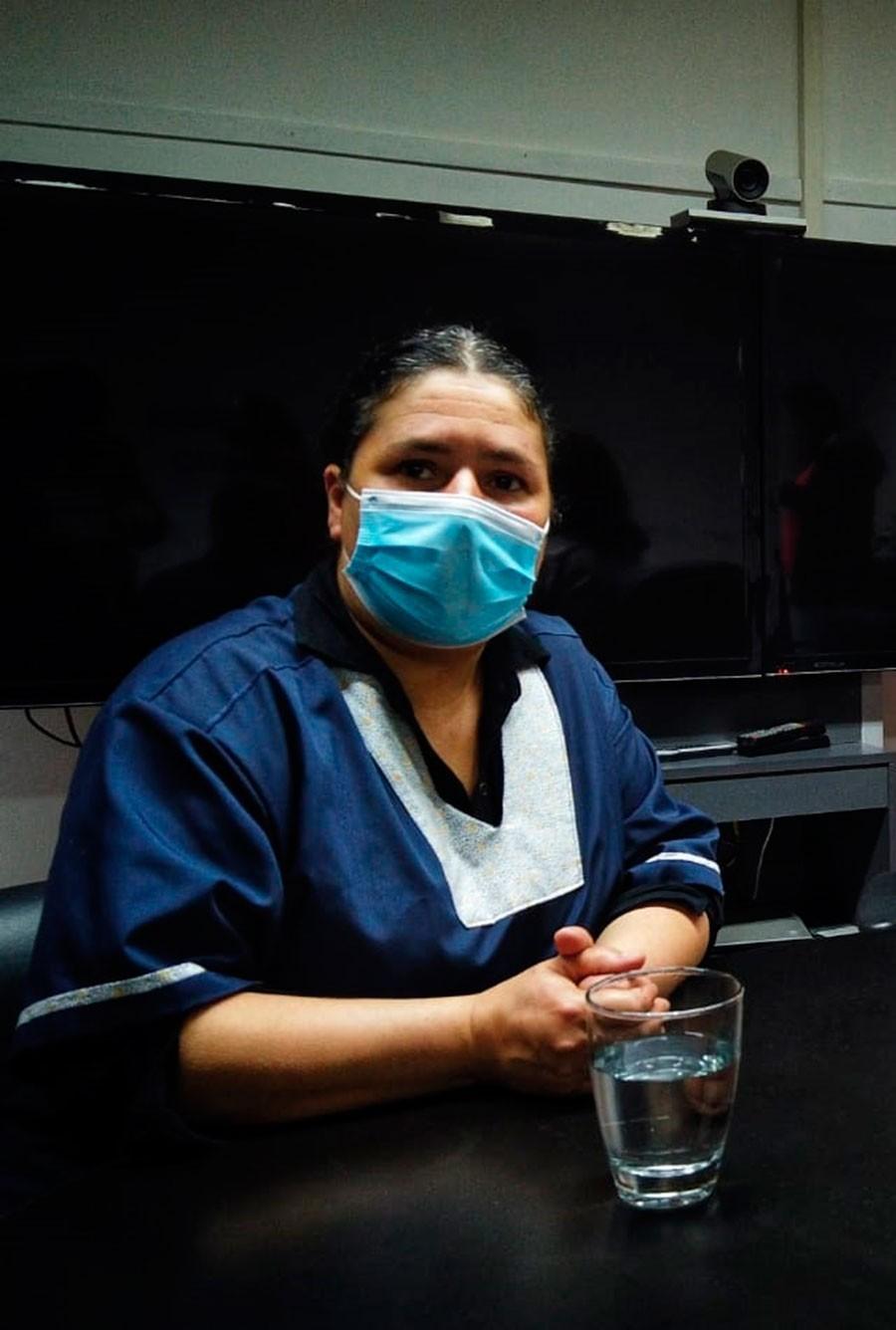 """Doctora Marcela Laborde: """"Seguimos teniendo casos positivos pero coincidentemente con el avance de la vacunación, con menos requerimiento de internación"""""""