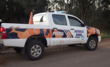 Ibarra: La policía sorprendió a dos sujetos retirando una moto del Depósito Judicial