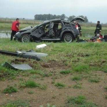 Accidente en Ruta 205: dos mujeres hospitalizadas en Saladillo