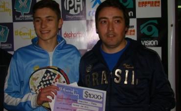 Tirso Pato y Eduardo Ingliso fueron Campeones de la 5ta categoría en corralón pádel