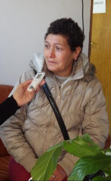 Una abuela desesperada pide por su nieto que está internado en Azul