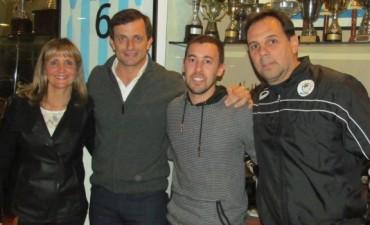 El Club Ciudad de Bolívar reconoció a Sebastián Closter