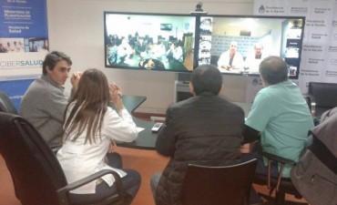 Desde el Hospital Municipal 'Capredoni',  se realizó una nueva jornada de CiberSalud