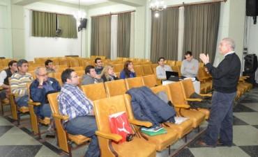 Se realizó una jornada técnica sobre Ley Ovina y Prolana en la Municipalidad