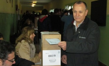 Votó Ricardo Criado