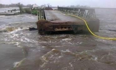 25 de Mayo: Cedió puente militar sobre el Salado
