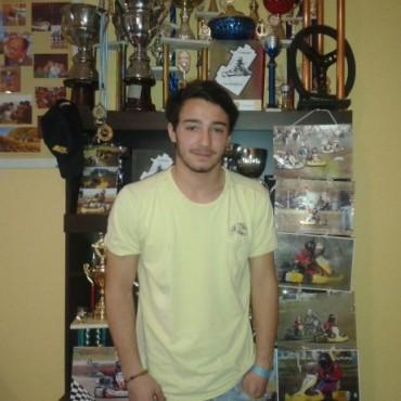 Karting del Centro:: Santiago Fuentes fue el más rápido