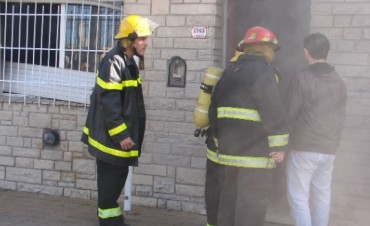 9 de Julio: Detectaron un principio de incendio en la vivienda de Javier Zelarallán