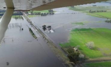 Advierten sobre graves consecuencias en el sector rural por las inundaciones