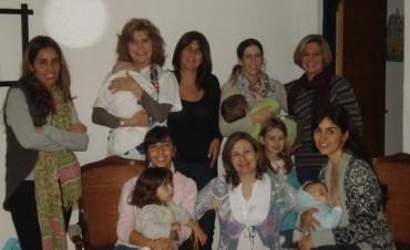 Festejos por la semana mundial de la lactancia materna en el Cine Avenida