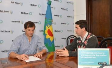 El Intendente firmó nota de solicitud de Emergencia y/o Desastre Agropecuario en Bolívar