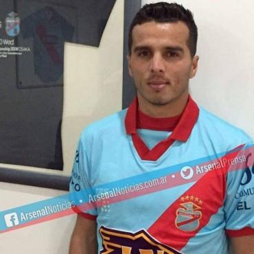 Renso Pérez ya entrena con Arsenal de Sarandí