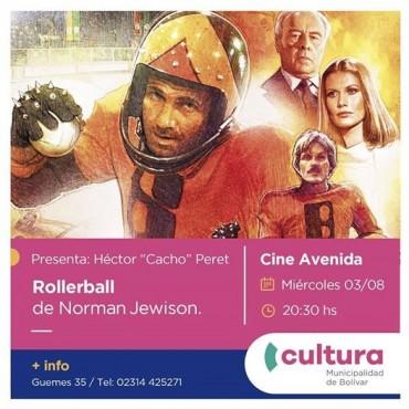 Ciclo Miradas: Llega hoy miércoles 3 de agosto 'Rollerball'