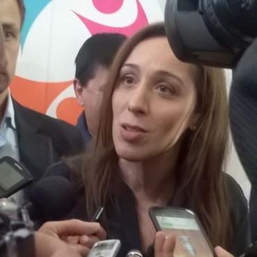 Olavarría y Bolívar: Vidal visitó La Casa de la Mujer e inauguró un Centro Preventivo de Adicciones