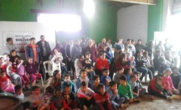 Comenzaron los festejos por el Día del Niño en las localidades