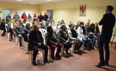 El intendente encabezó la segunda consulta pública en Casariego