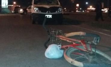Murió un ciclista en Ruta 226 y Calfucurá