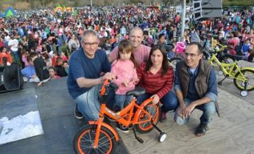 Miles de chicos festejaron su día en el parque