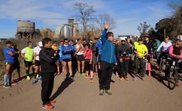 Se realizó la Carrera Participativa organizada por Tercer Tiempo esperando lo que será la Ultra Maratón en septiembre
