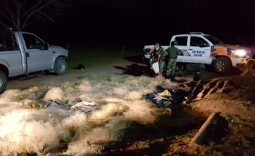Pehuajó: Golpe a la pesca clandestina por parte de la Patrulla Rural