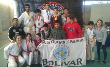 Taekwondo: Buena performance de los chicos en el Torneo Regional de Lincoln