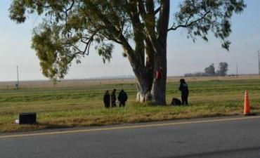 Dolores: El cuerpo calcinado de una mujer apareció adentro de una valija en ruta 2