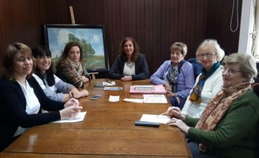 El Municipio junto a LALCEC presentaron una campaña de prevención contra el cáncer de cuello de útero