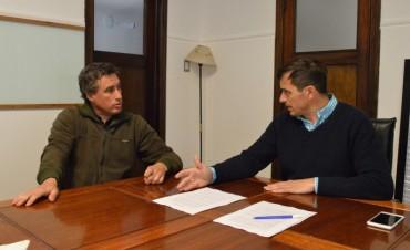El Intendente firmó un convenio con SapaB