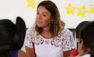 Marcela Campagnoli se suma a la campaña de Erreca
