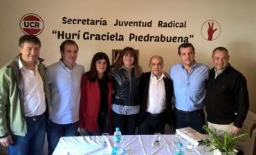 Erreca, Morán y Santos estuvieron en el cierre de la campaña seccional de Cambiemos