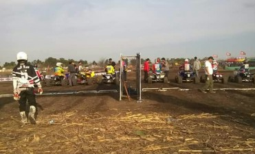 Luego del quadcross en Bolívar, Ramiro Urruti y Gianluca Pagani piensan en su participación en el Torneo Nacional de Motocross en Chile