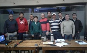 El DT de la Selección Argentina de Arquería, visitó Bolívar