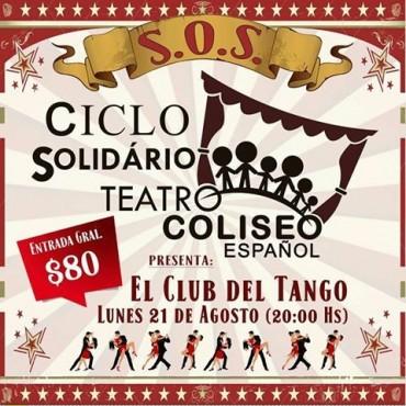 CICLO S.O.S: Nuevo espectáculo de tango, en el Teatro Coliseo Español
