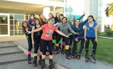 KANGOO JUMP: Las chicas del Club Ciudad de Bolívar participaron del 'Tandil salta 2017'