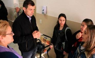 Casa Hogar: El intendente Bucca recorrió las obras