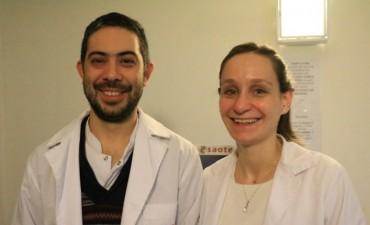 Incorporan dos nuevos médicos al hospital 'Capredoni'