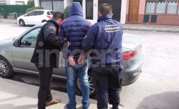 Lo atrapan en Olavarría por un robo en Bolívar