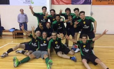 TORNEO COMERCIAL DE VOLEY 'COPA ZOOM': Se conocieron los campeones en Masculino 'Nivel A' y 'Nivel B' y Femenino