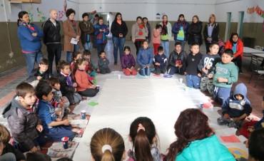 DÍA DE LAS VÍCTIMAS DE DESAPARICIONES FORZADAS: Se llevó a cabo una jornada con los niños y niñas de los CAI