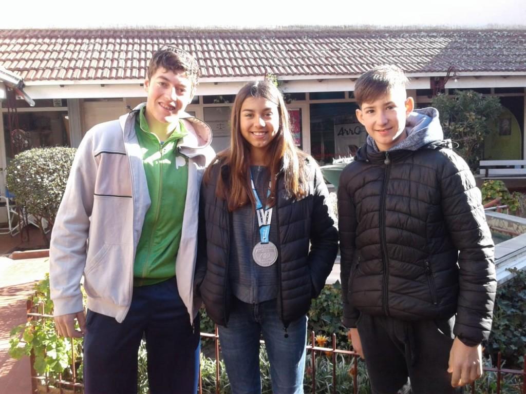 Tres jóvenes ciclistas locales participaron del Campeonato Argentino de XCO