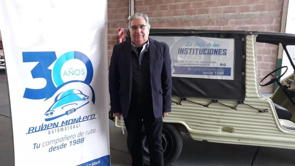 Rubén Montero Automotores presentó la 2º edición de la 'Rifa de las Instituciones'
