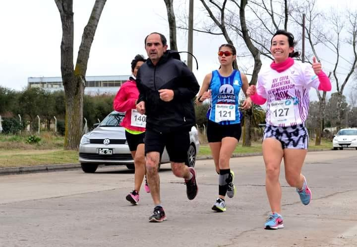 Ricardo Rojas de Olavarria, ganó la Ultra de 100 kilómetros