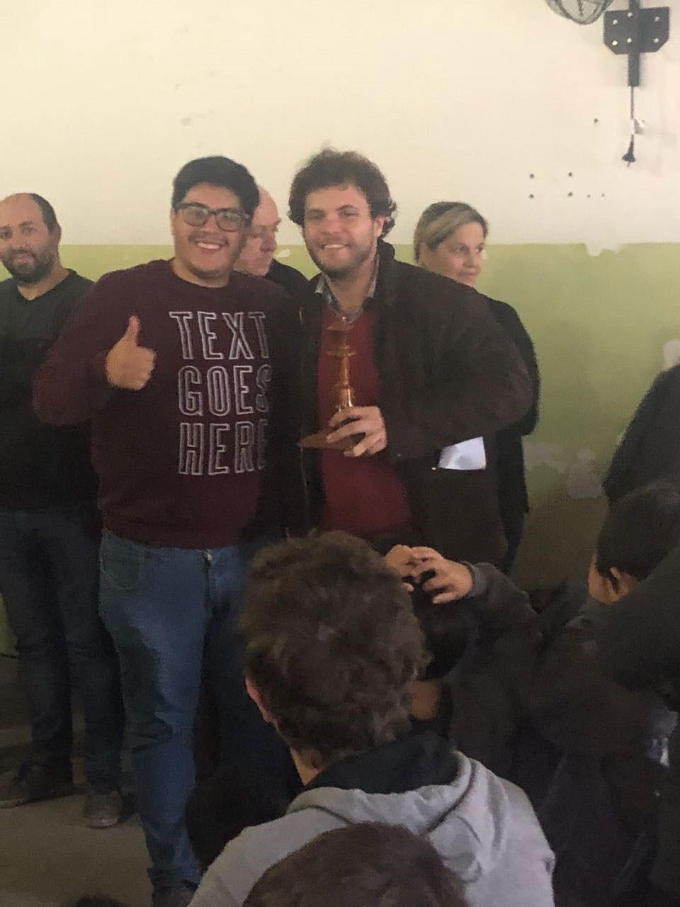 Jano Pacho: 'Los mayores no sumamos puntos para la escuela por disposición del Prix'