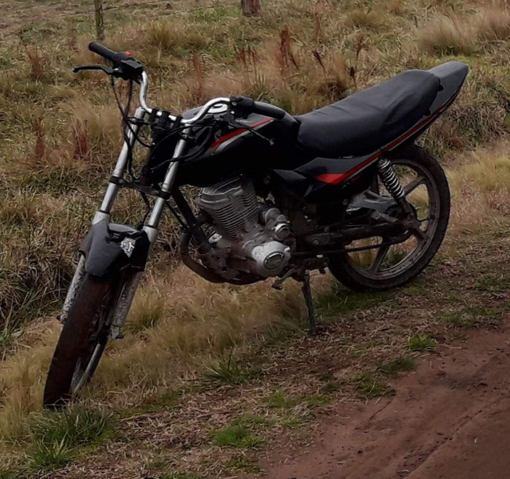 Informe CPR Bolívar: Se solicita a los ciudadanos el reconocimiento de un ciclomotor encontrado en la zona rural