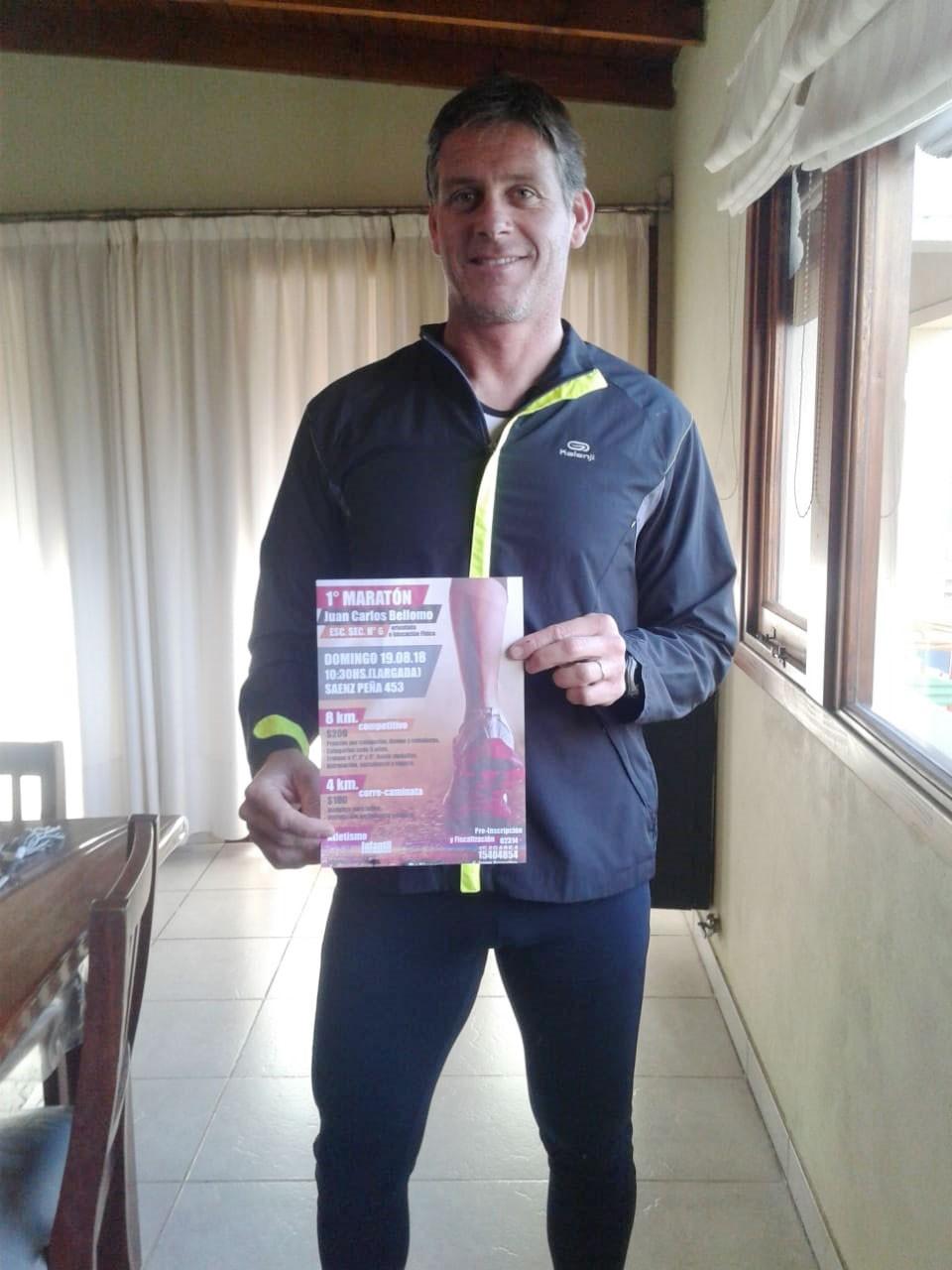 Se viene la 1º Maratón organizada por la EES N.º 6