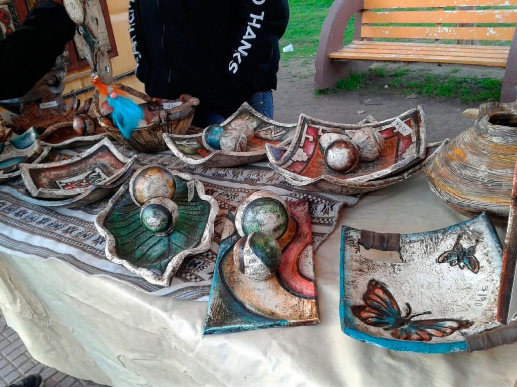 La feria de artesanos itinerantes fue éxito durante el fin de semana